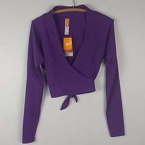 LUCY Perfect Pose Wrap in Purple